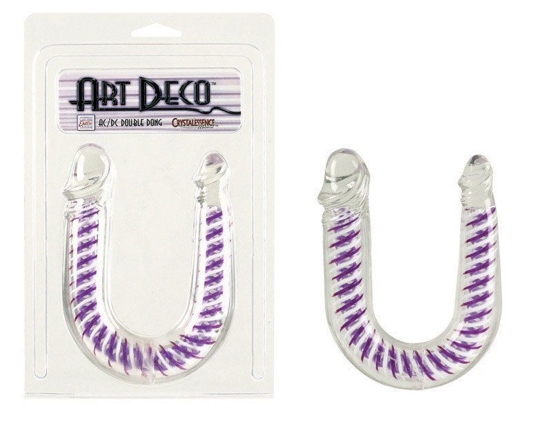 Art Deco Ac/Dc Double Dong