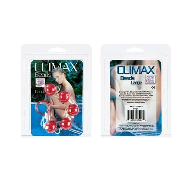 Climax Beads-Lg-Asst Colors