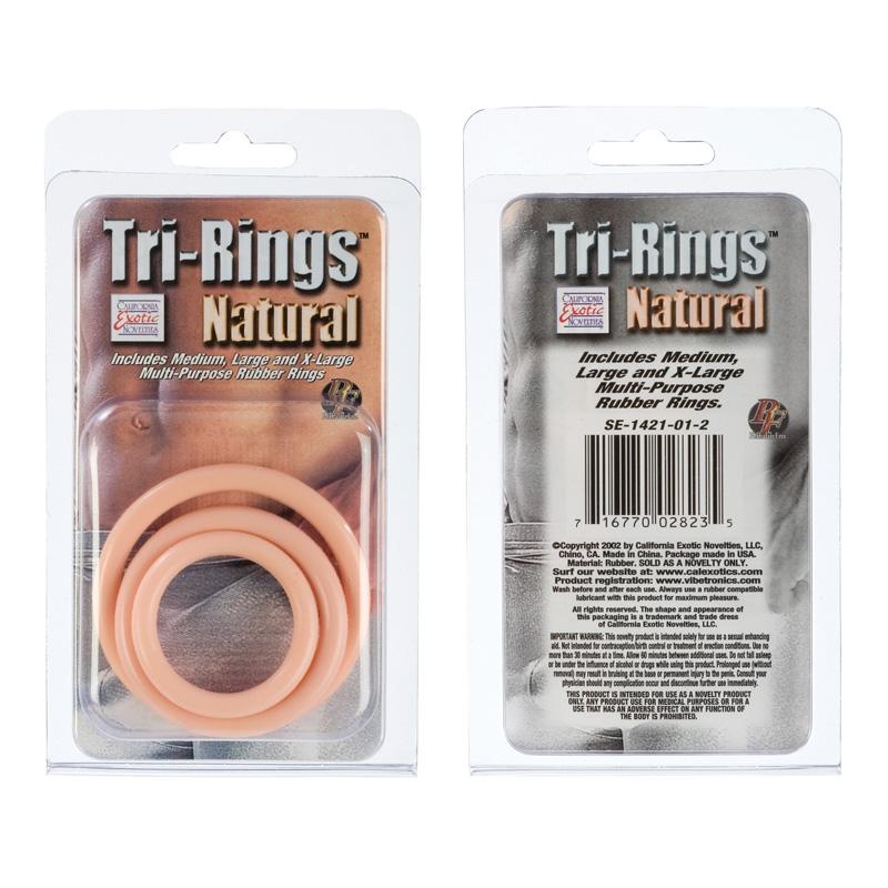 Tri Rings Natural