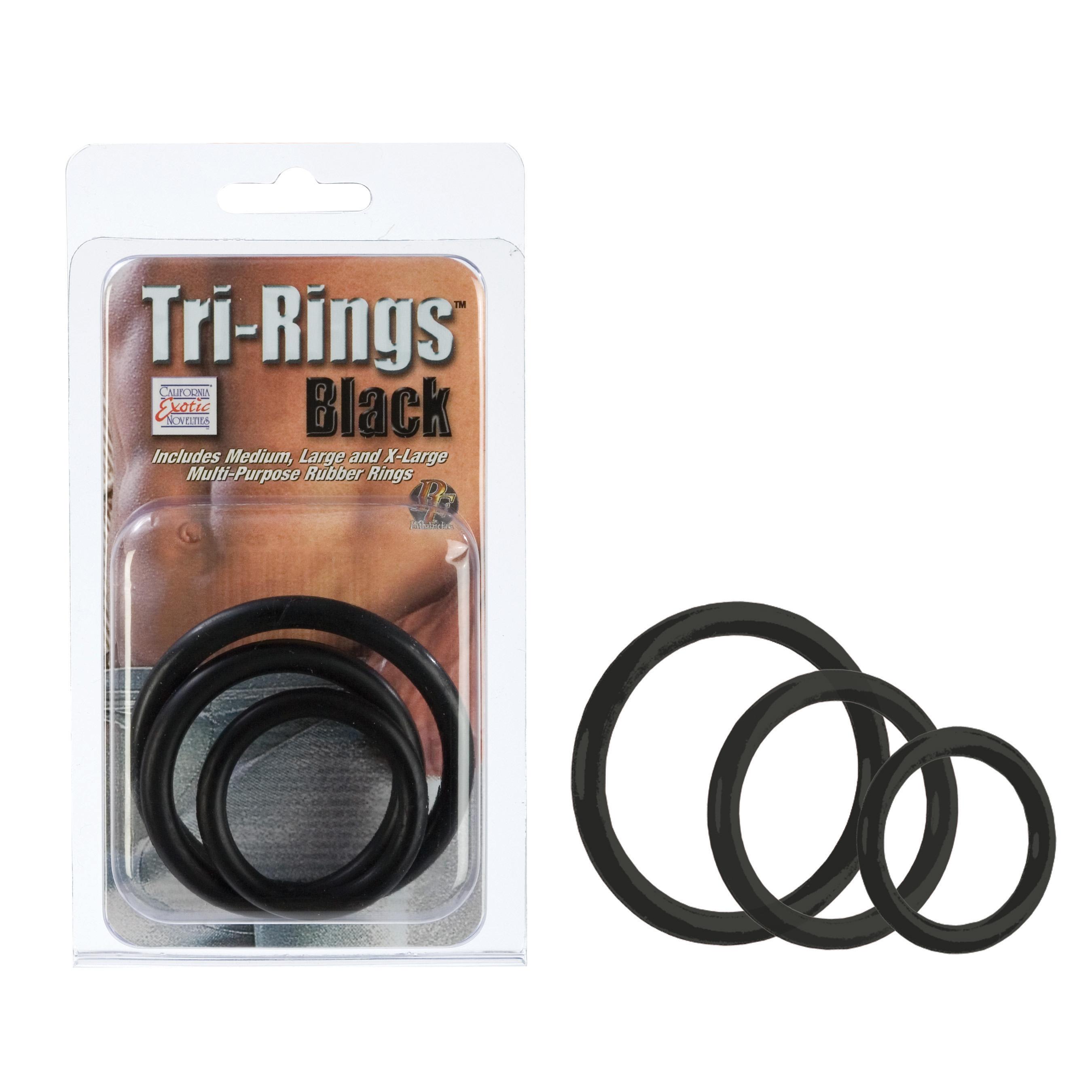 Tri Rings Black