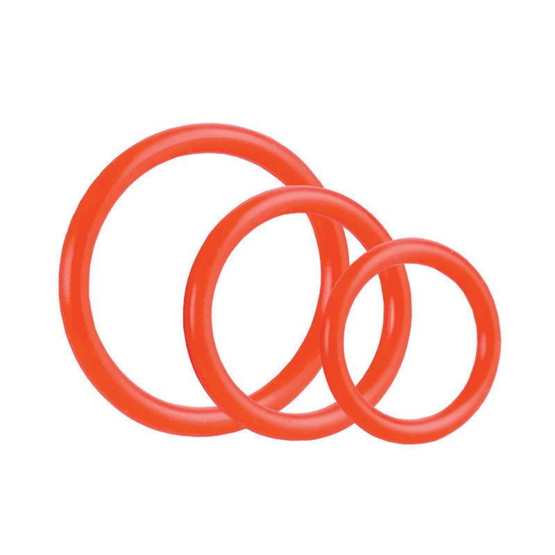 Tri Rings Red