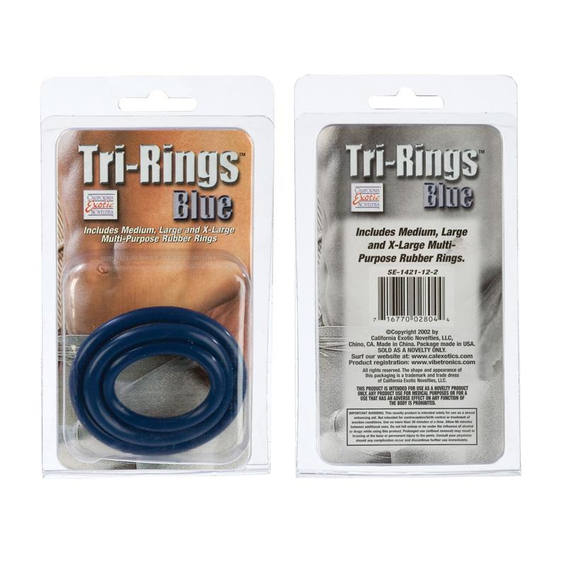 Tri Rings Blue