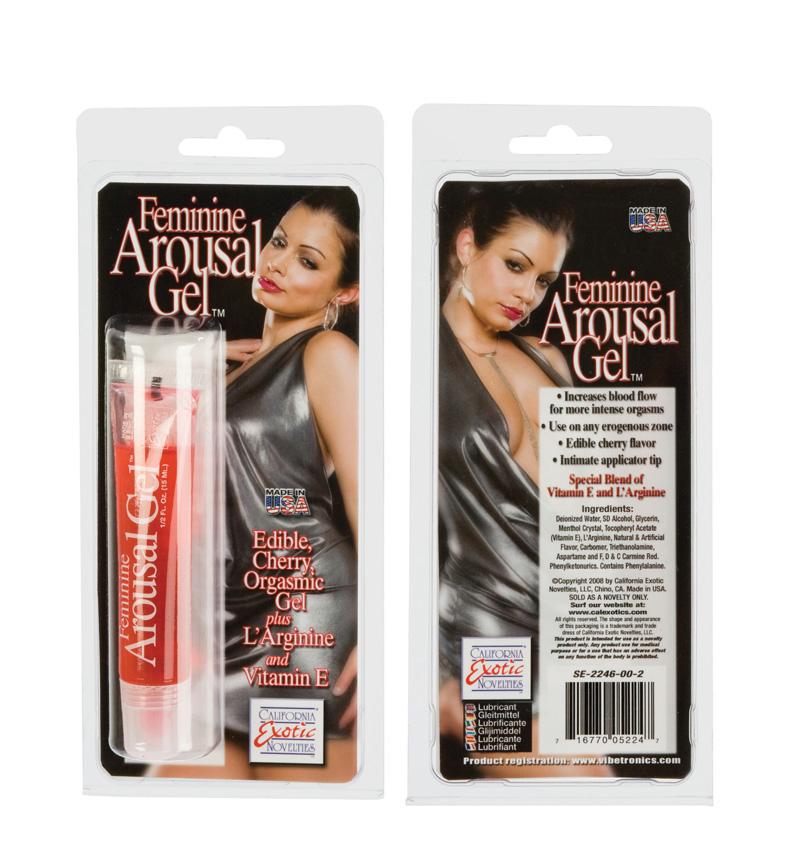 Feminine Arousal Gel