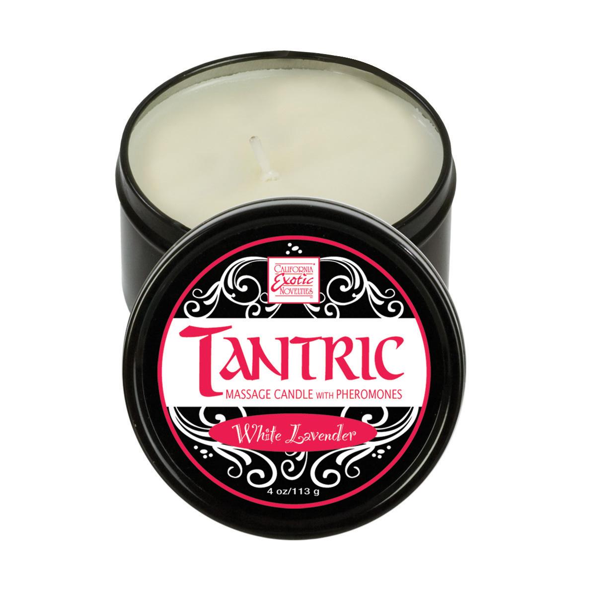 Soy Candles W/Pheromones White Lavender