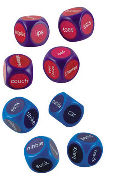 Hot & Spicey Party Dice - SE243400