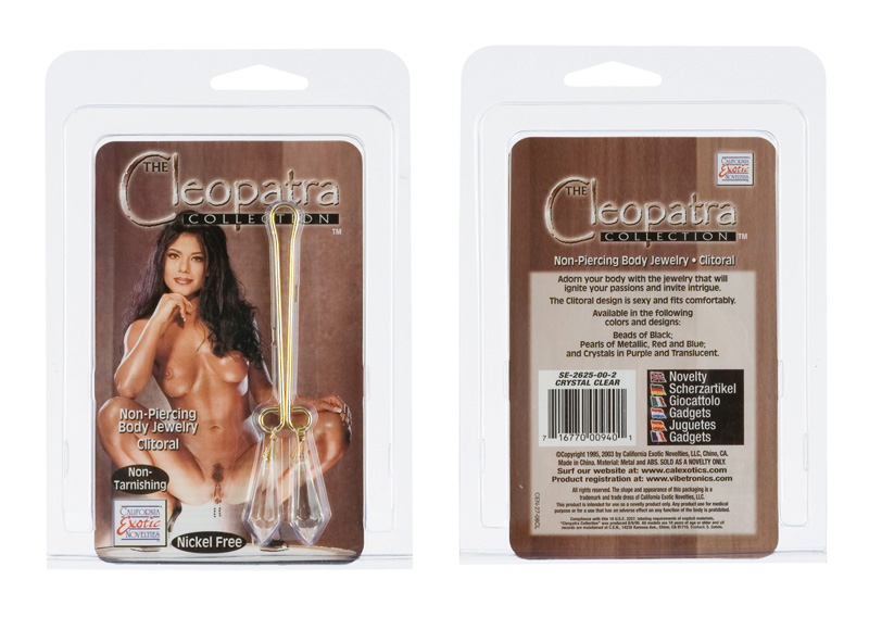 Cleopatra Clit Clip-Crystal Clear