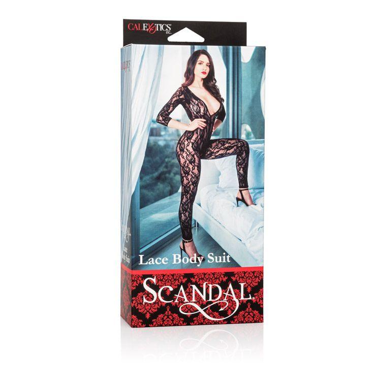 SCANDAL LACE BODY SUIT  - SE271207