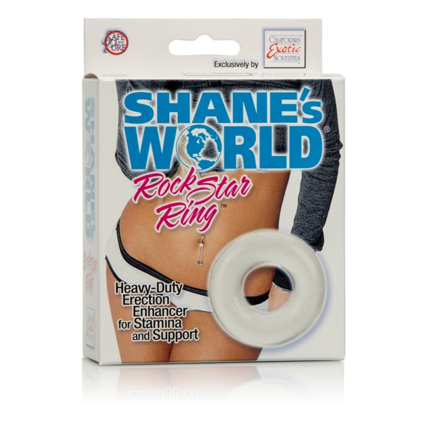 SHANE'S WORLD ROCK STAR RING CLEAR