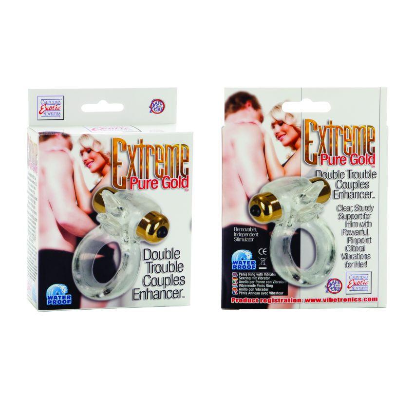 Extreme Pure Gold- Double Trouble Couples Enhancer