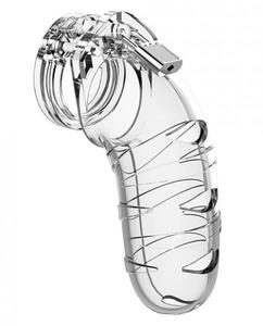 Mancage Chastity 5.5In Transparent Model 05