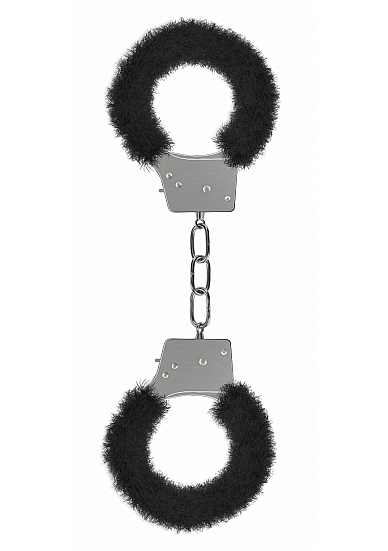 BEGINNERS HANDCUFFS FURRY BLACK