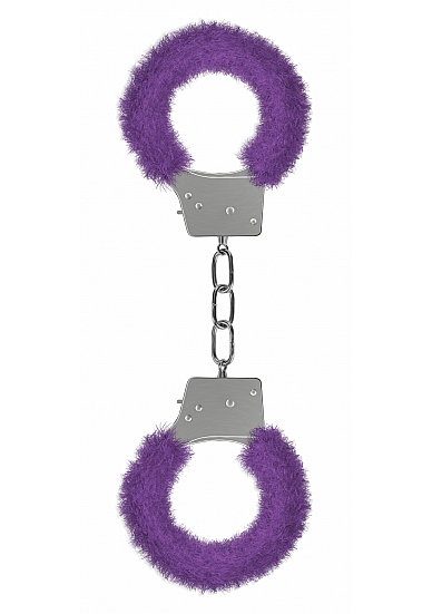 BEGINNERS HANDCUFFS FURRY PURPLE