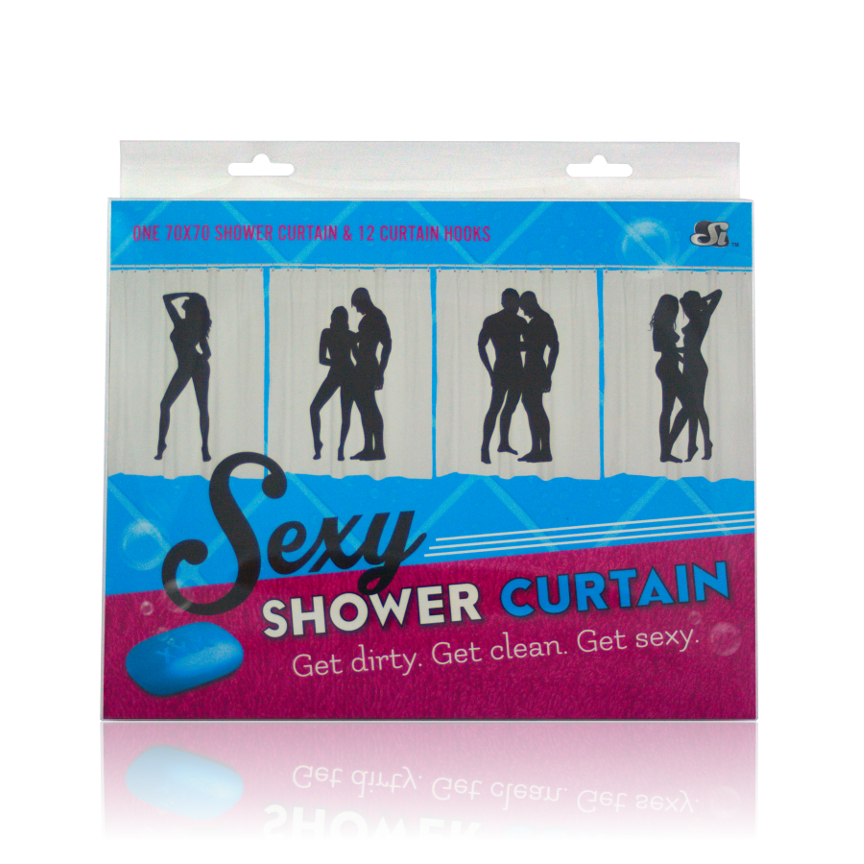SEXY SHOWER CURTAIN F