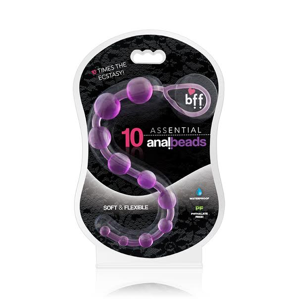 Assential Anal Beads Purple