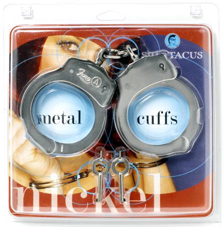 Nickel Dual Lock Handcuffs