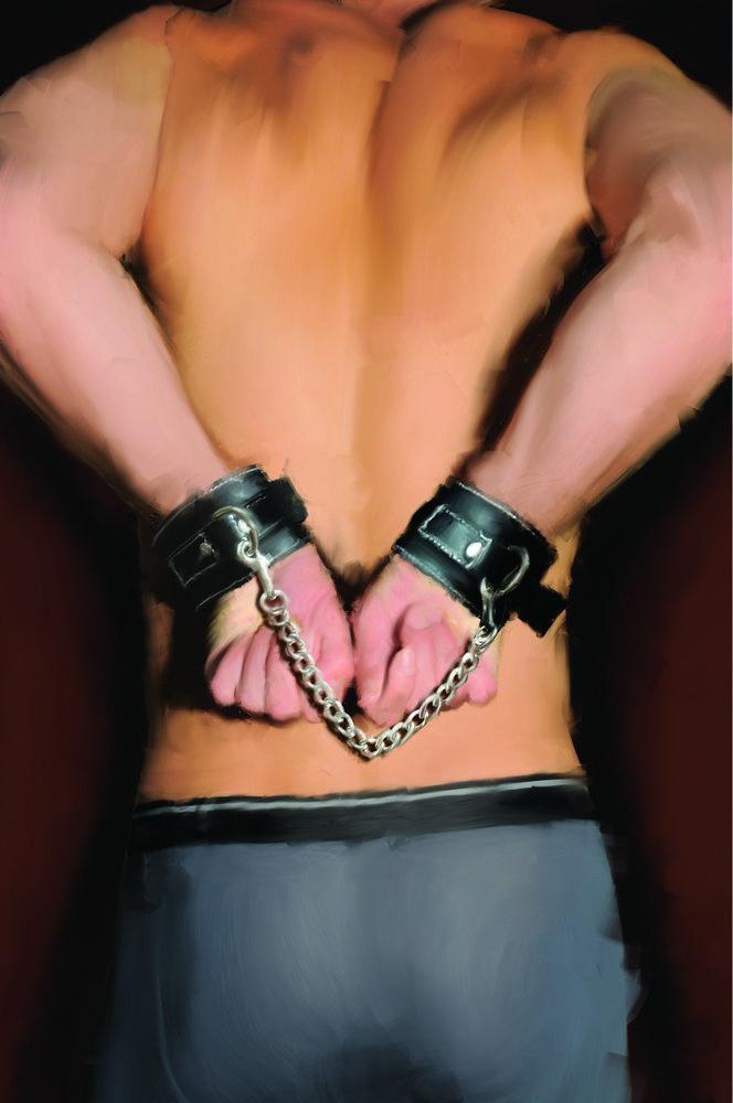 Edge Leather Wrist Restraints Bu