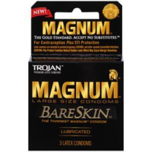 Trojan Magnum Bareskin 3Pk