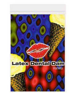 Dental Dam Vanilla