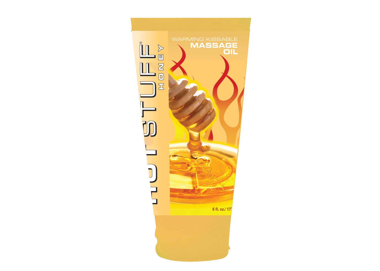 Hot Stuff Warming Oil Honey 6 Oz