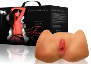 Wildfire Celebrity Series Cyberskin Farrah Full On Vibrating Pussy & Ass