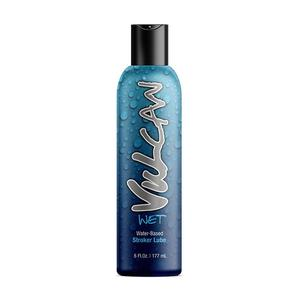 Vulcan Wet Water Based Stroker Lube 6 Oz