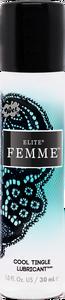 Wet Elite Femme Cool Tingle Silicone Blend 1 Oz