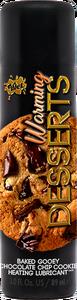 Wet Warming Desserts Baked Gooey Chocolate Chip Cookie 3 Oz
