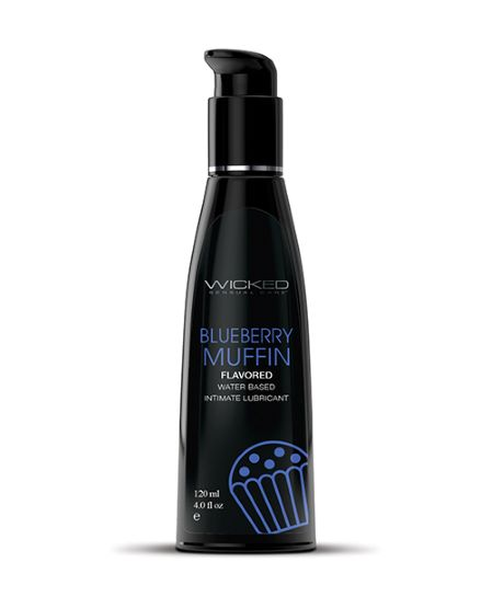 WICKED AQUA BLUEBERRY MUFFIN FLAVORED WATER BASED 4 OZ
