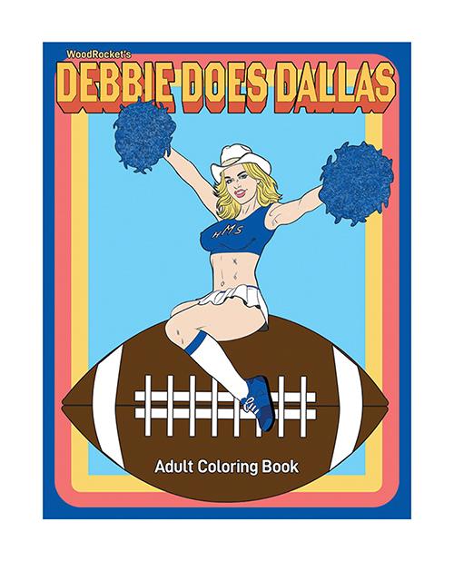 DEBBIE DOES DALLAS ADULT COLORING BOOK