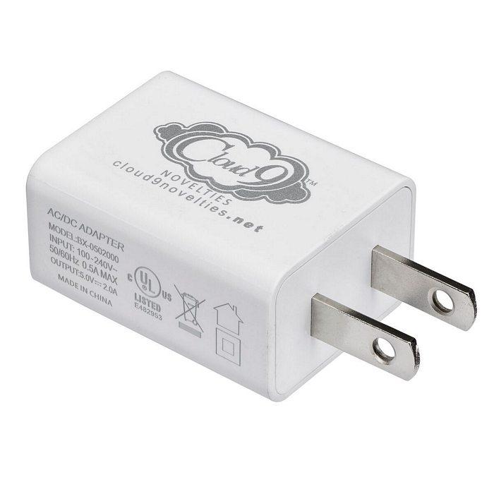 CLOUD 9 USB 1 PORT ADAPTER CHARGER FOR VIBRATORS  - WTC624191