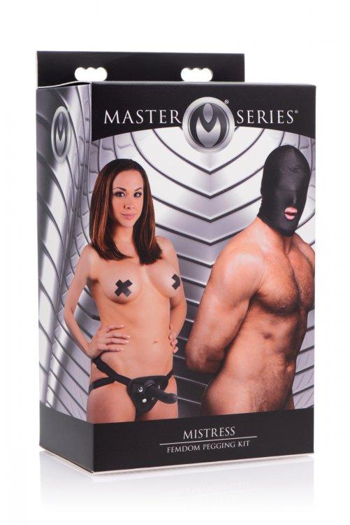 MASTER SERIES MISTRESS FEMDOM PEGGING KIT  - XRAF378