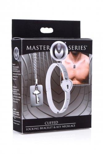 MASTER SERIES CUFFED LOCKING & KEY NECKLACE - XRAF916