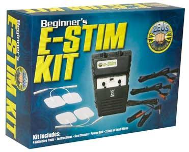 ZEUS ELECTROSEX POWERBOX BEGINNER E-STIM KIT